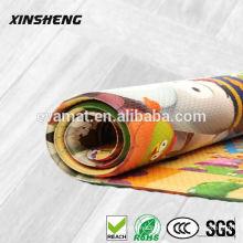 Non-toxic eco-friendly plastic PVC foam bathroom anti-slip floor mats