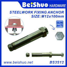 M12X100 316 Stainless Steel Boxbolt for Building