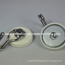 High Quality Plastic Neodymium Magnet Holding Magnetic Hook
