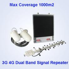 GSM / WCDMA / Lte 3G 4G Lte Мобильный телефон Repeater сотовый телефон сигнала Booster 500 МВт