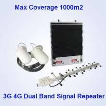 Lte 800 2100MHz Dual Band Mobile Phone Siganl Repeater