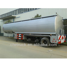 factory price tri-axle Peru 50000litres fuel tank semi trailer