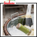 Outdoor Patio Rattan/Wicker All-weather Beverage Beer Cooler Ice Bucket With Tray
