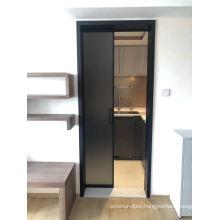 Modern European and American Indoor Glass Pocket Door