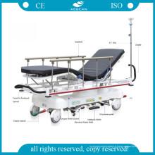 AG-Hs001 L'utilisation d'hôpital ISO et CE a approuvé la civière hydraulique