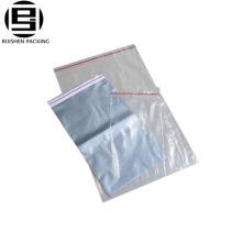 Sacs en plastique transparent en vinyle avec fermeture à glissière
