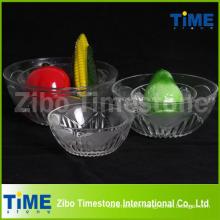 Vente en gros de bols de desserts en verre