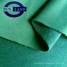 Pantalón de otoño Ropa de abrigo deportivo 50D 32 Gran interbloqueo de punto unido unido con microfibra polar DTY 75D144F DTY