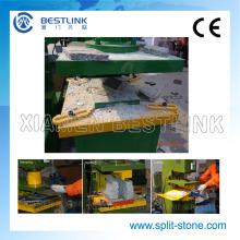 Sobras de pedra Mutifuctional reciclagem pedra hidráulica, máquina de carimbo