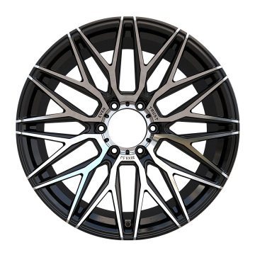 Aftermarket pick-up velg 6x139.7 Zwart machinaal bewerkt gezicht