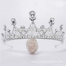 Unique Crystal Red Diamond Crowns