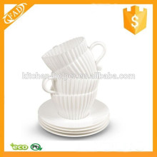 Non-stick High Quality Silicone Cupcake and Muffin Baking Cup