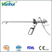 Instruments d'urologie Lithotriptoscope Lithotrite à tête courbe