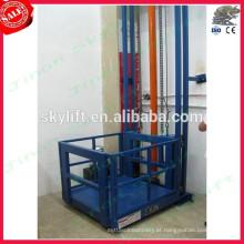 elevador de carga de trilho de guia elevador