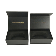 Professional unique high quality premium luxury custom beauty equipment packaging magnetic gift box with foam insert