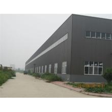 Estructura de acero prefabricada de la vertiente de la fábrica