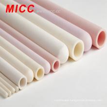 MICC 99% alumina tube refractory alumina ceramic tube 1700C USE