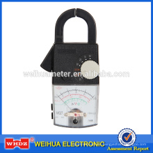 Medidor de abrazadera analógica Medidor analógico Abrazadera Multímetro Medidor de abrazadera Metro de pinza portátil Medidor de corriente MG27