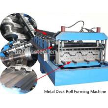 Plc Controle e Estação Hidráulica / passou Ce E Iso / Full Automatic Sheet Roof Metal Metal Roll formando máquina