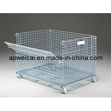 Wire Containers (with Front and Back Gates)