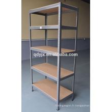 utilitaires légers entrepôt shelving des bandes en acier inoxydable