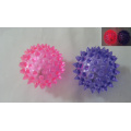 Light Up Transparent Color Spiky Balls