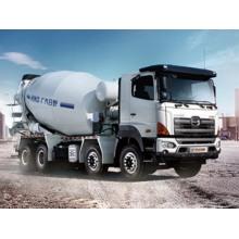 Camion-citerne de mélangeur concret de 12CBM HINO