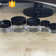 Runde Kosmetik 5ml 10ml 20ml 30ml 50ml Klarglas
