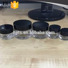 rond cosmétique 5 ml 10 ml 20 ml 30 ml 50 ml verre transparent pot