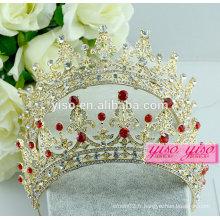 Bandeaux de mariée bandeau en cristal bijoux sur mesure tiare