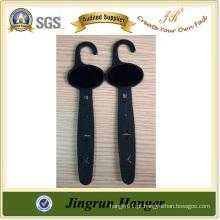 Cheap Best Selling Qualidade de qualidade Black Plastic Belt Hanger