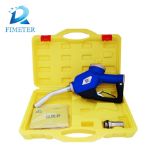 Manual fuel nozzle flow meter fuel gun water pump gun