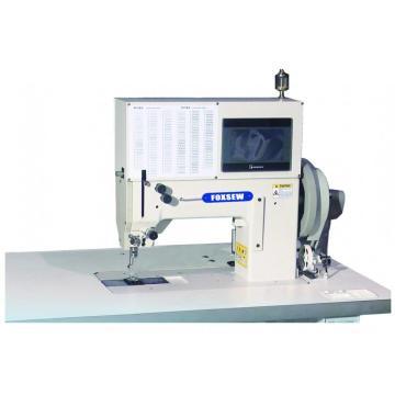 Máquina de costura eletrônica de agulhas resistentes de agulhas simples / duplas