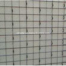 Panel de construcción de malla cuadrada galvanizada