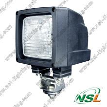 Lampe de travail CACHÉE 35W/55W, lumière carrée cachée de remorque de voie de logement d'ABS de faisceau d'inondation pour la machine agricole (NSL-5000)