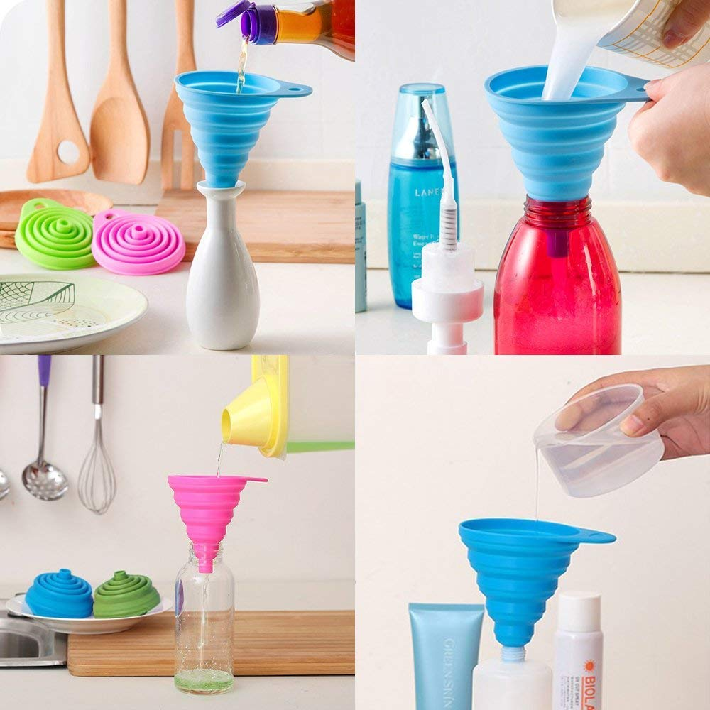 silicone folding funnel