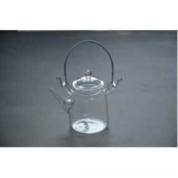 Eco-Friendly Transparent Coffee Pot Heat Resistant Glass Teapot