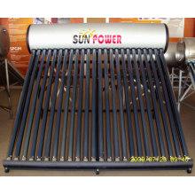 Unpressurized Solar Water Heater Stainless Steel