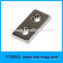 Permanenter kleiner Block Neodym-Magnet mit Löchern