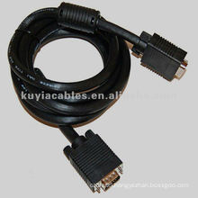 Projector SVGA VGA Monitor Cable M/M Black