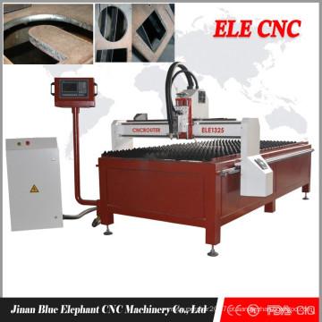 corte do cnc da fibra do carbono, máquina cnc do corte do aço inoxidável do ferro, tig do cortador do plasma