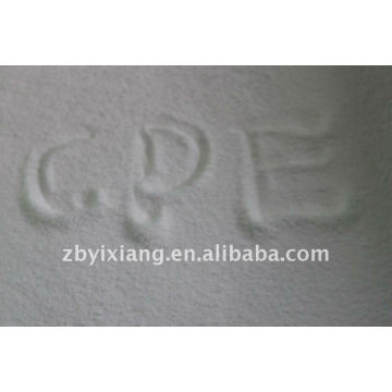 Polyethene resin, Chlorinated polyethylene resin, CPE135a