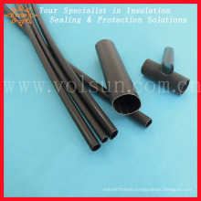 Semirigid medium wall electrical wire insulation sleeve