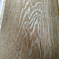 Wide Plank White Brushed and Natural Color Oak Engineered Flooring
