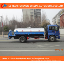 10000L 4 * 2 Foton Wassertankwagen Wasser Sprinkler LKW