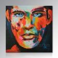Ручная роспись современного холста поп-арт Картина маслом портрет с вашего фото