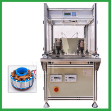 Automatic two stations BLDC rotor coil winding machine