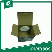 Caja de presentación de fútbol de cartón corrugado con ventana