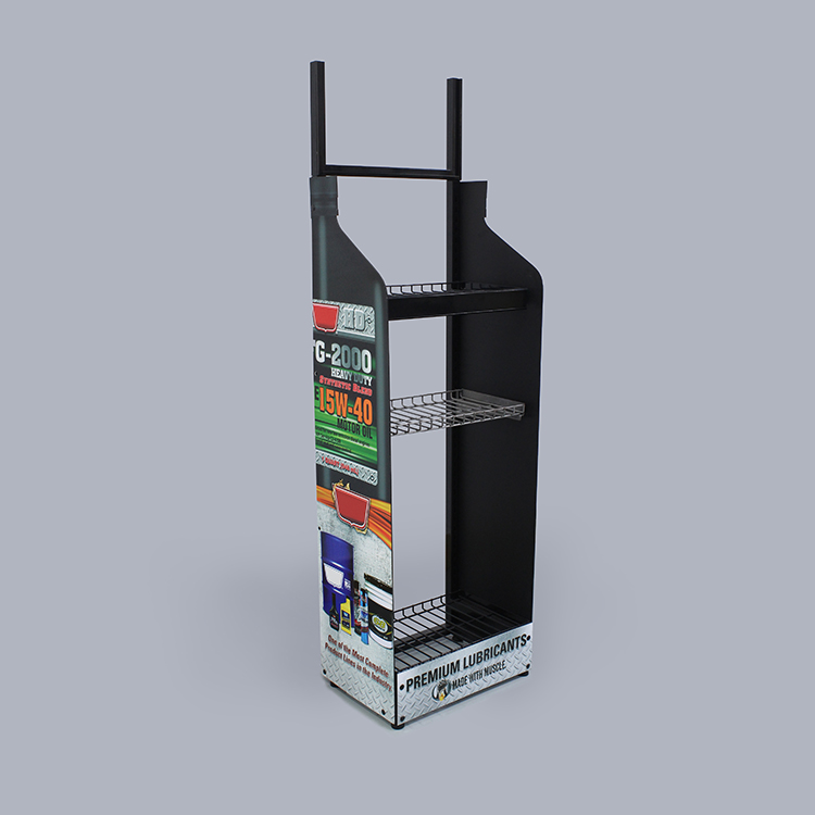 Hot Selling Customized Lubrication Display Stand For Store