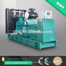 Preço dos geradores 500kw, geradores elétricos do poder do gerador 625kva